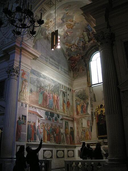 The Brancacci Chapel: The Early Renaissance in Florence, Italy