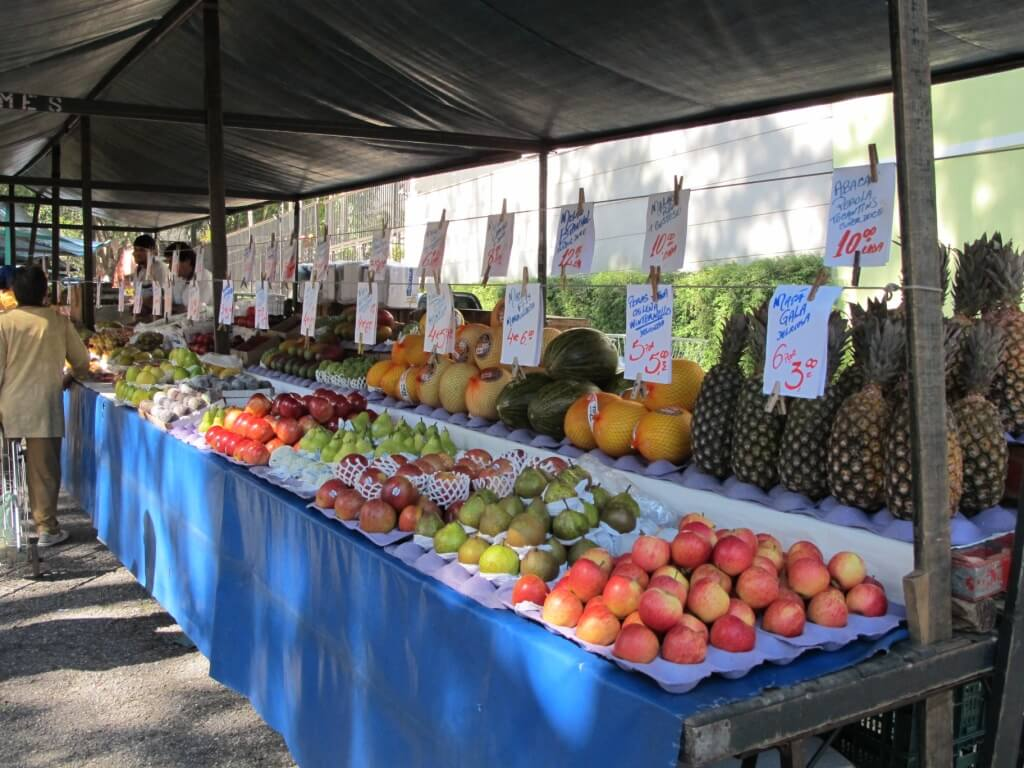 An Outdoor Market in Brazil: Ordinary, yet Beautiful