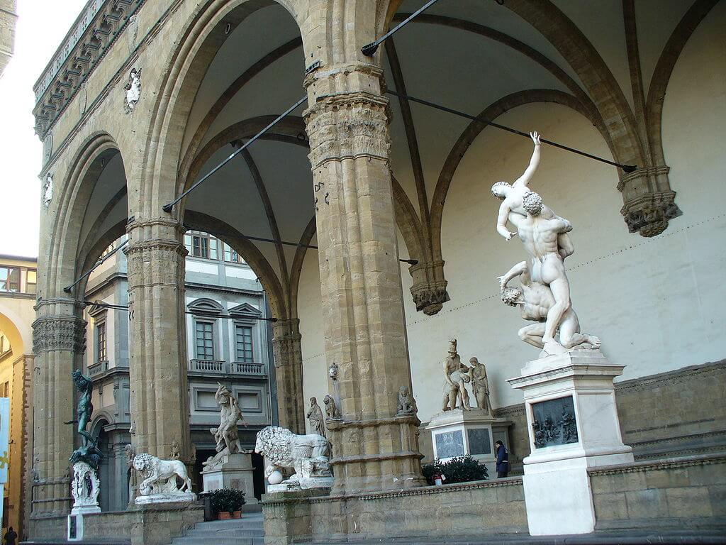 Outdoor Sculpture in Florence