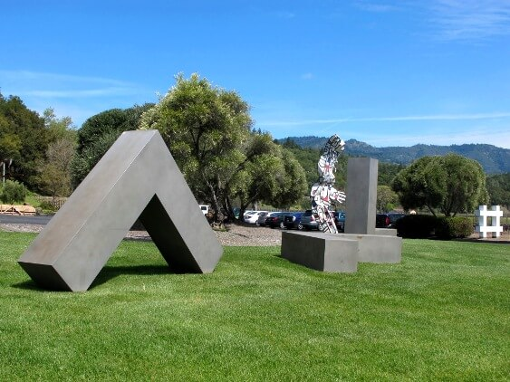 Art in Napa Valley: Sculpture at Clos Pegase