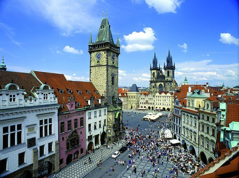 The czech republic that no one knows about for Prague square