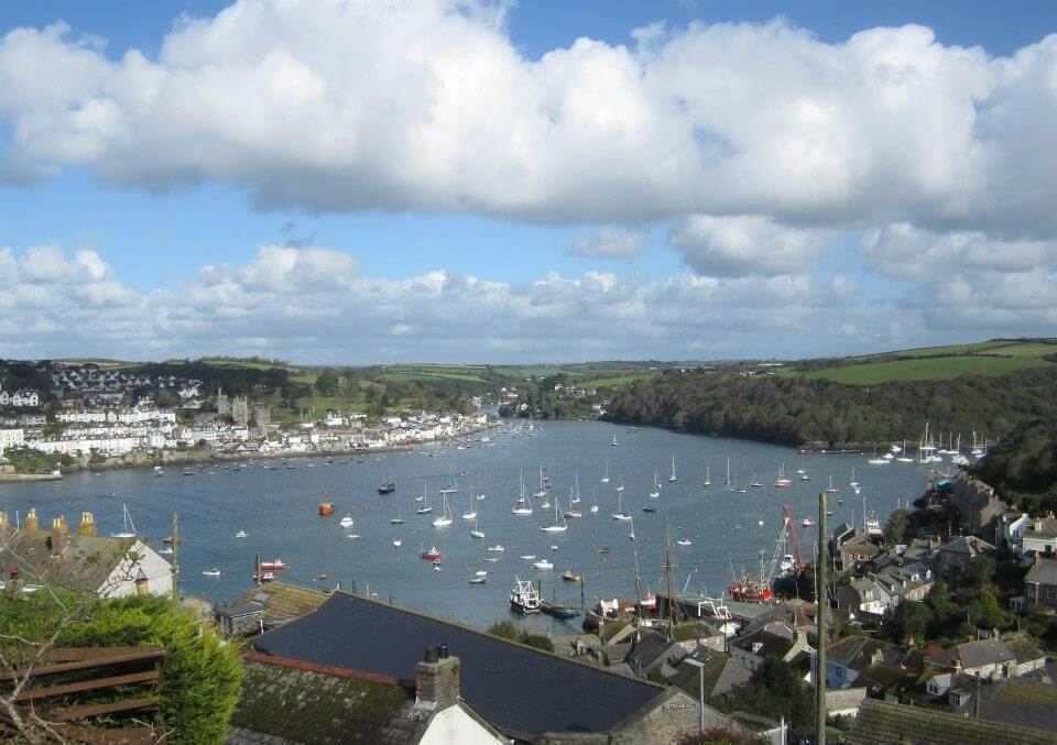 view of Fowey