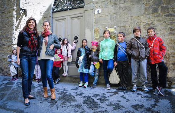 When in Italy: Art, Kids, & a Day Camp