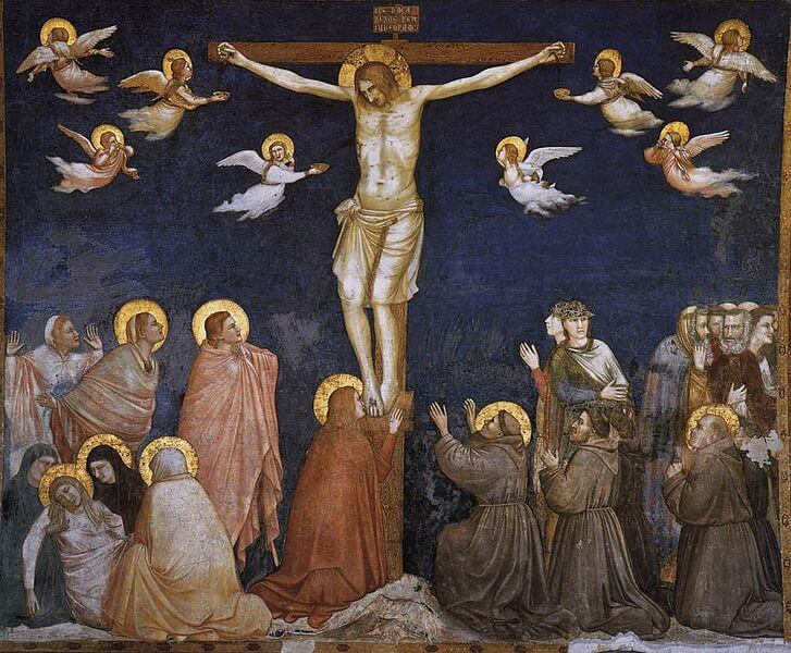 727px-Giotto,_Lower_Church_Assisi,_Crucifixion_01