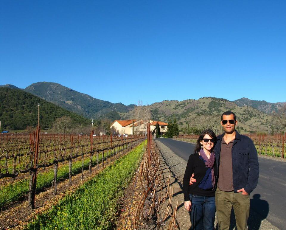 A Romantic Getaway in Calistoga