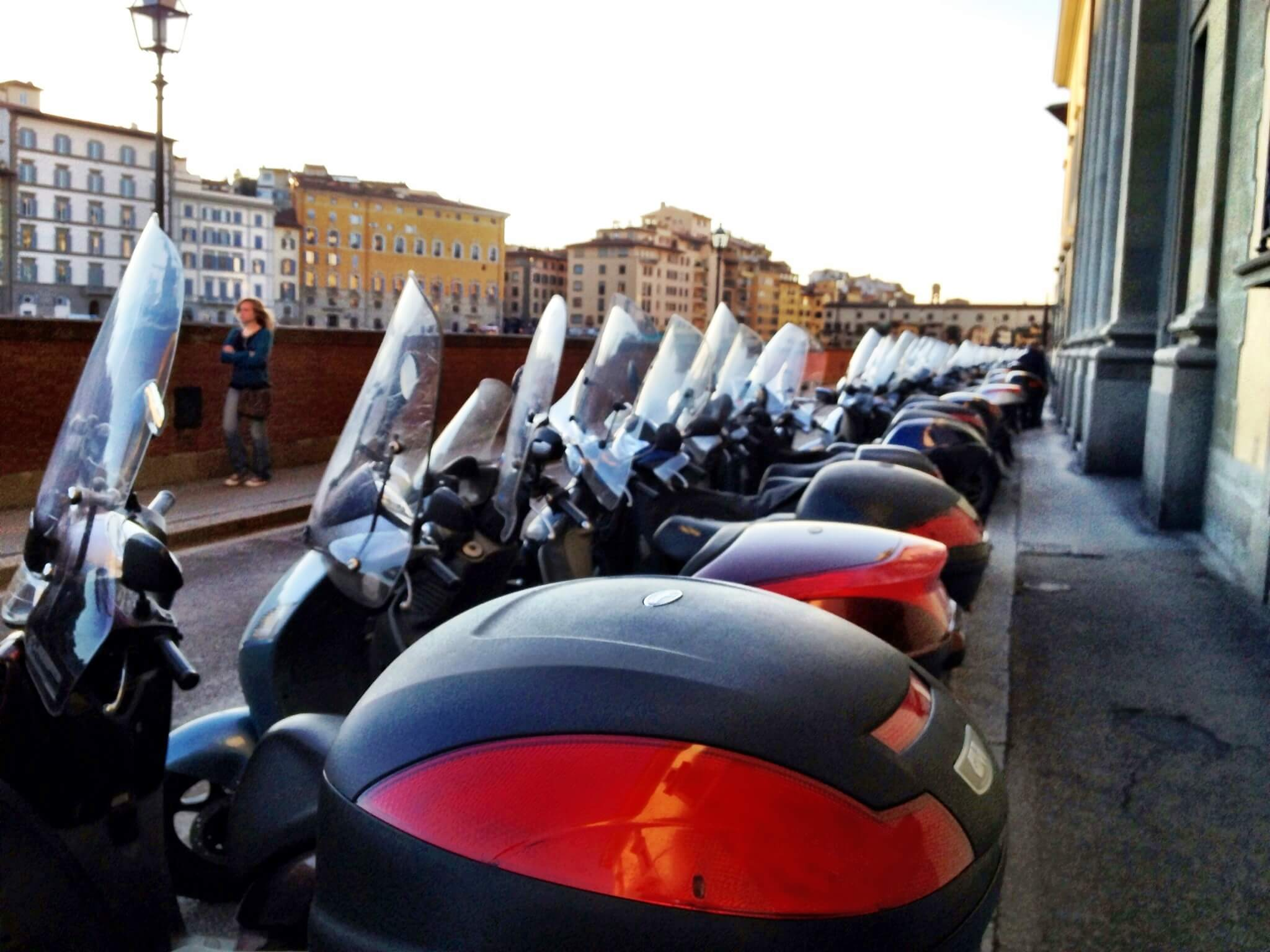 scooters in Italy