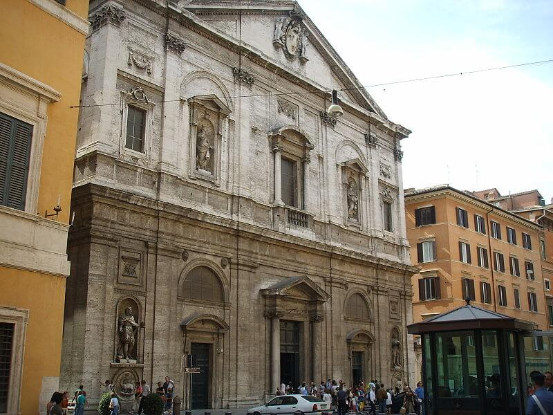 church facade rome