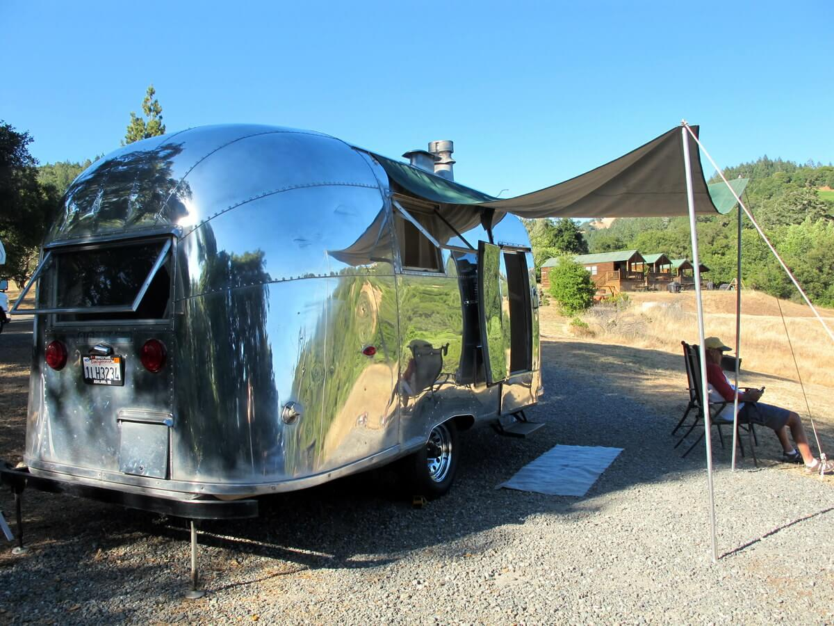 photo essay camping in northern california airstream camping