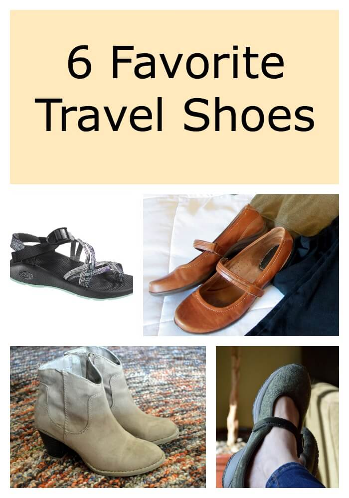 6 Types of Great Travel Shoes