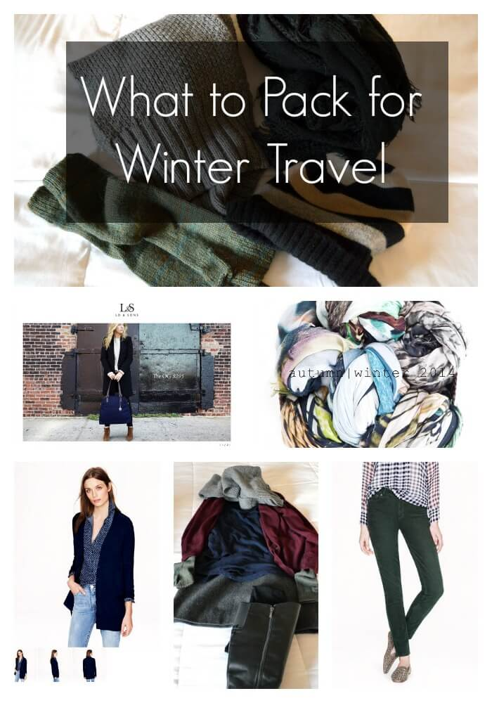 What to Pack for Winter Travel