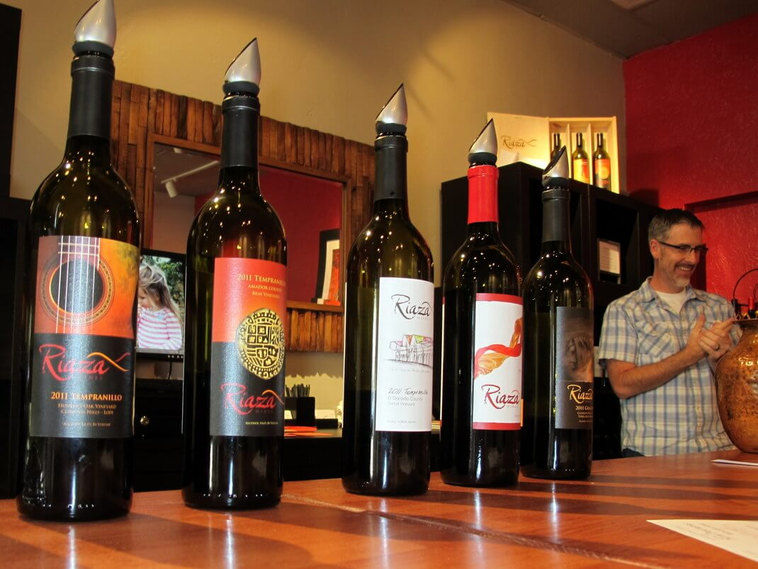 where to taste wine Downtown Lodi