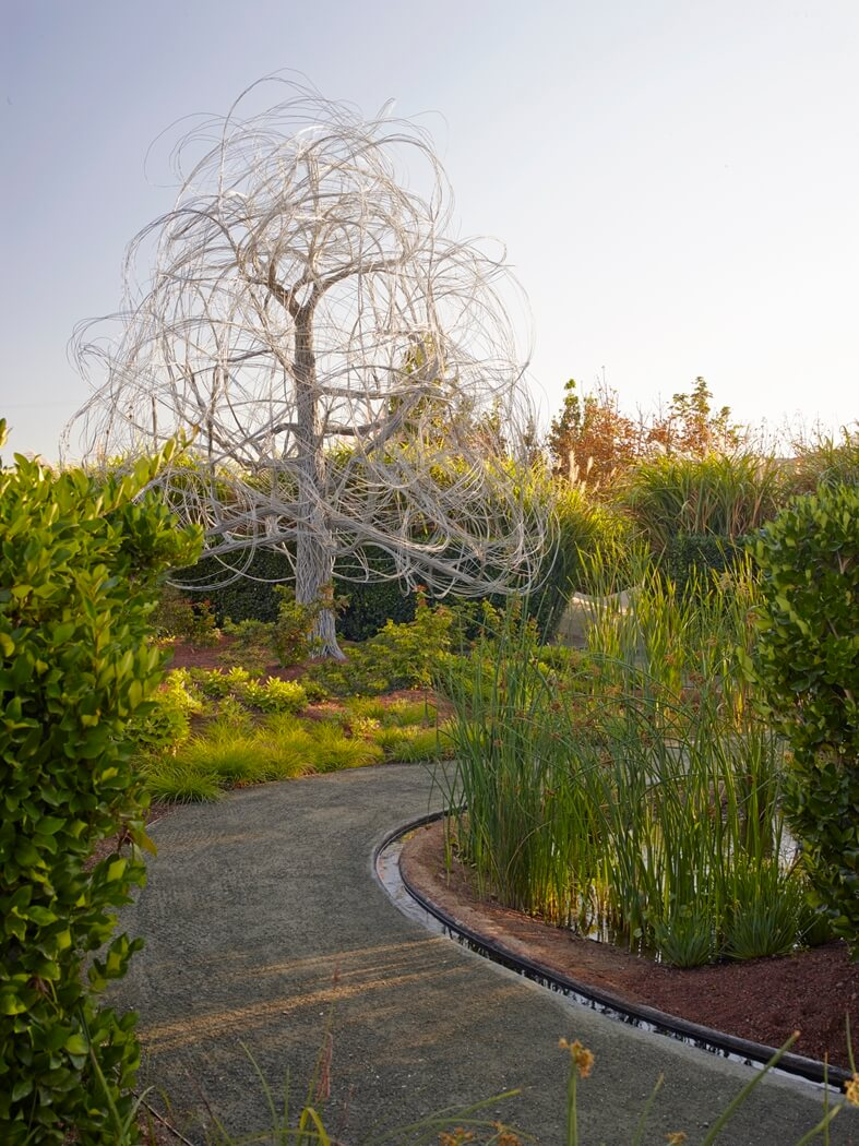 Sculpture at Cornerstone Sonoma
