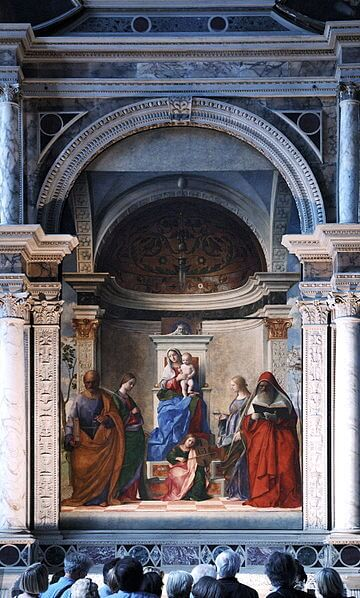 San Zaccaria altarpiece in Venice