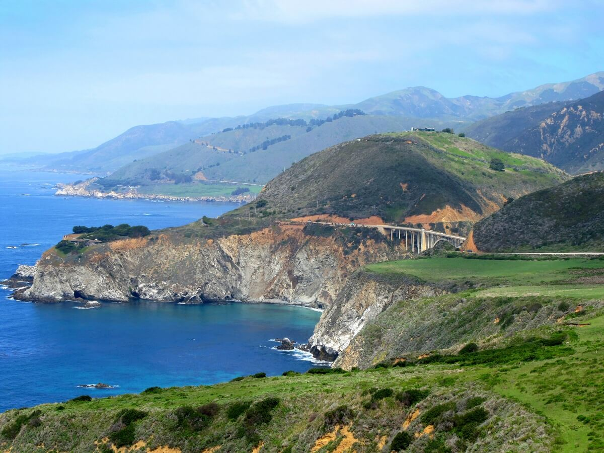 A Drive on Highway 1 to Big Sur