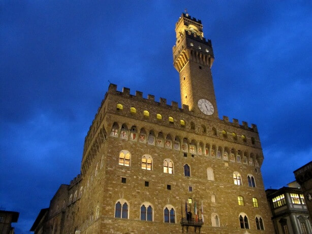florence blue hour