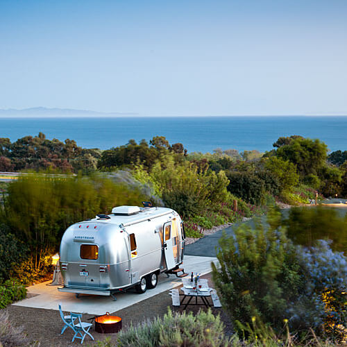 Vintage Travel in an Airstream | This Is My Happiness.com, Photo from Sunset.com