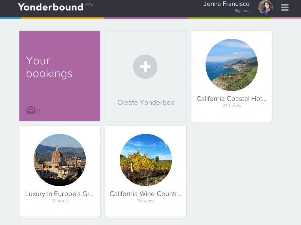 Yonderbound: New Hotel Booking Site