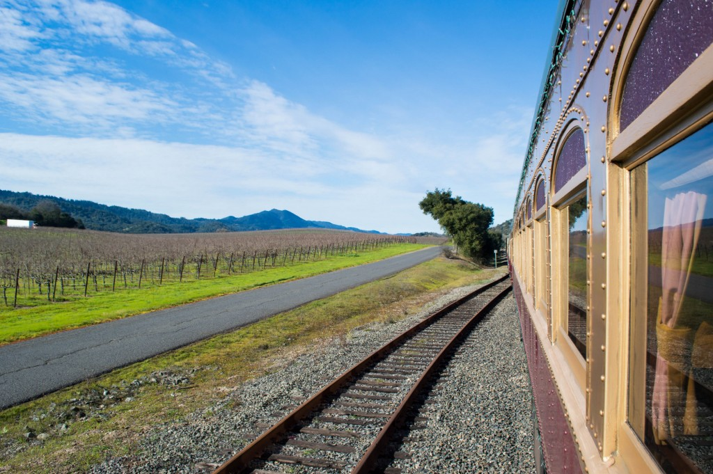 A Lunch Ride on the Napa Wine Train |This Is My Happiness