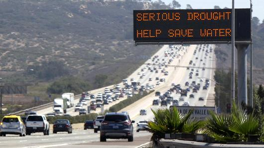 Travel & the California Drought