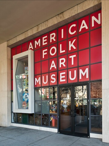 Where to see folk art in the U.S.