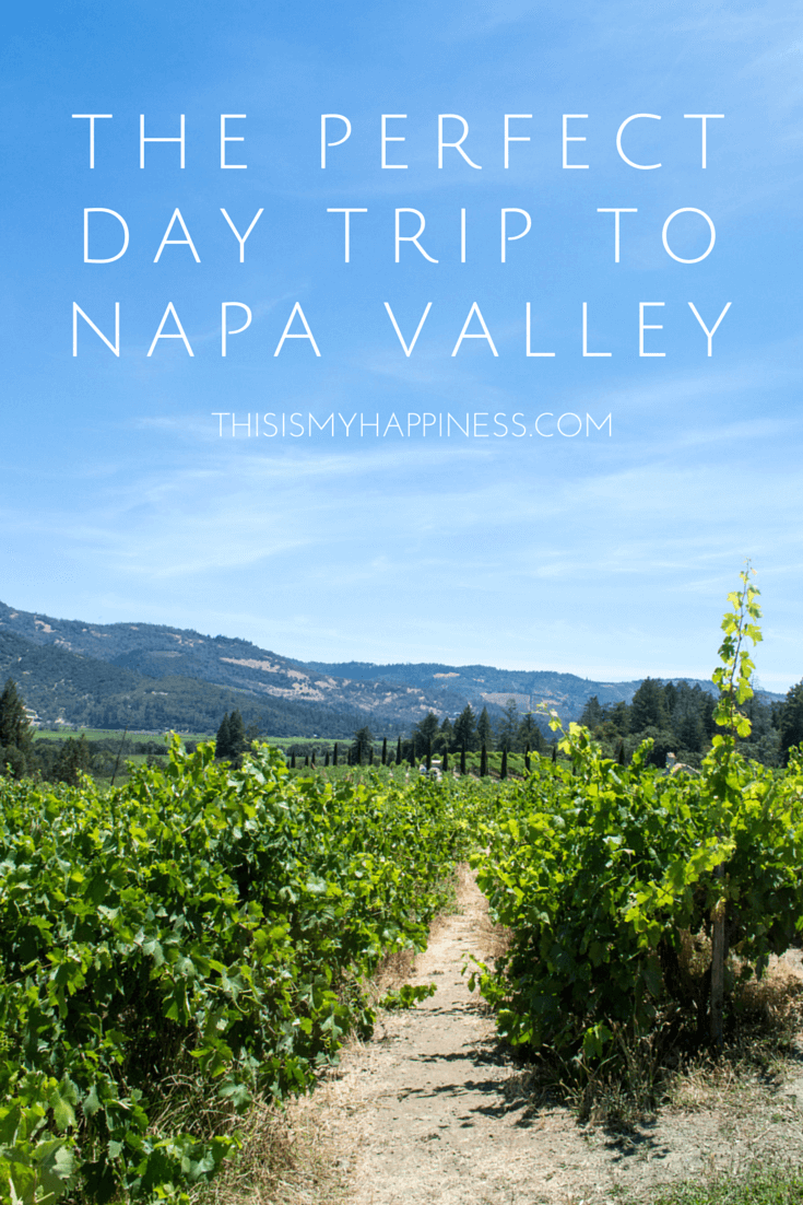 The perfect day trip to napa valley for Best time to visit napa valley wine country