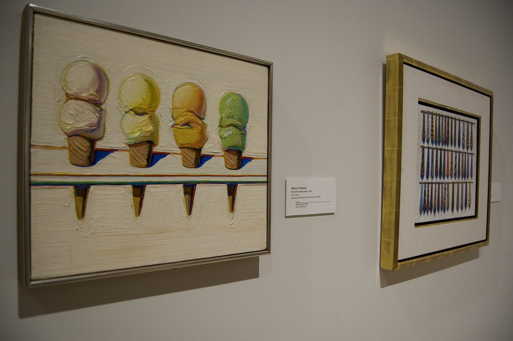 Where to See Wayne Thiebaud's Paintings