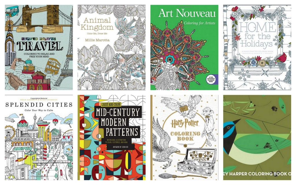 Best coloring books of 2015