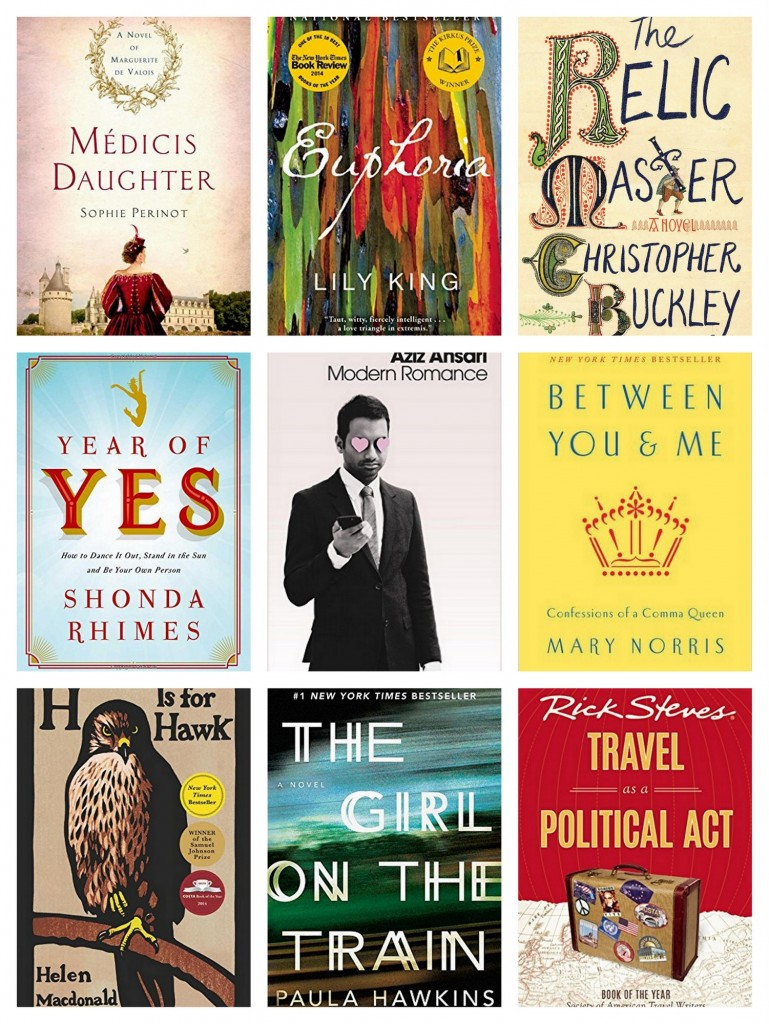 Books for holiday gifts 2015