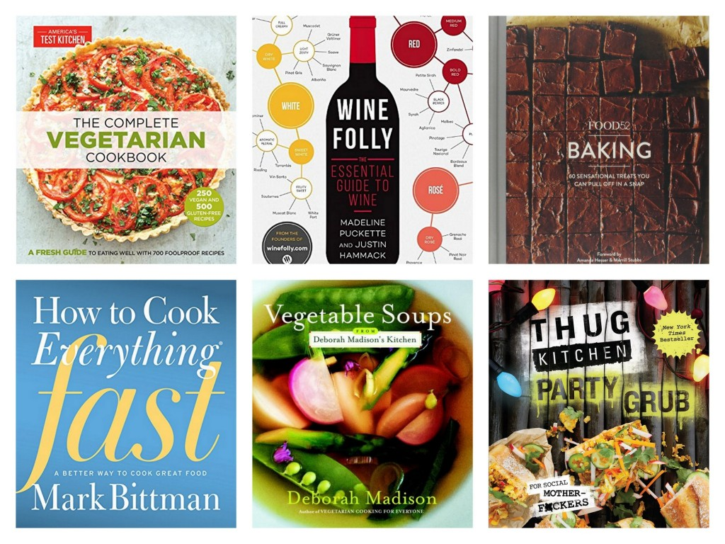 Best cookbooks for holiday gifts 2015
