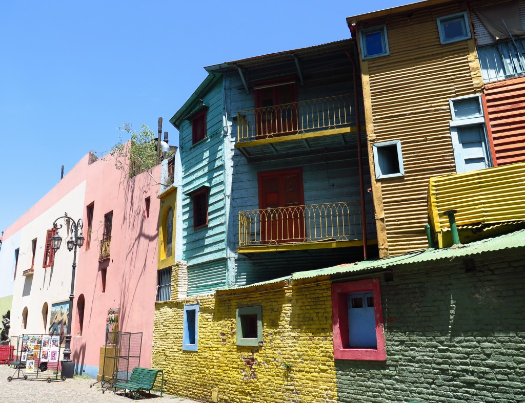 Painted houses in Buenos Aires | 36 hours in Buenos Aires