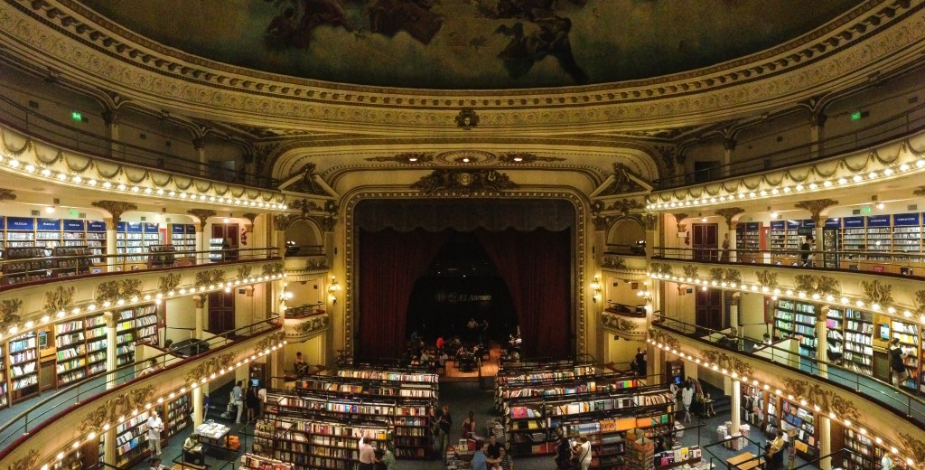 36 hours in Buenos Aires: Theater Bookstore | This Is My Happiness