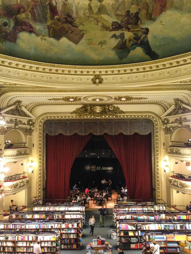 Old bookstore in Buenos Aires: 36 hours in Buenos Aires