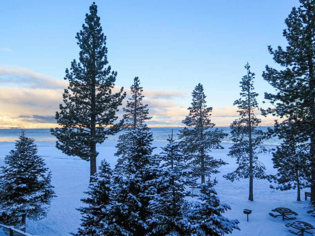 images snow Lake Tahoe
