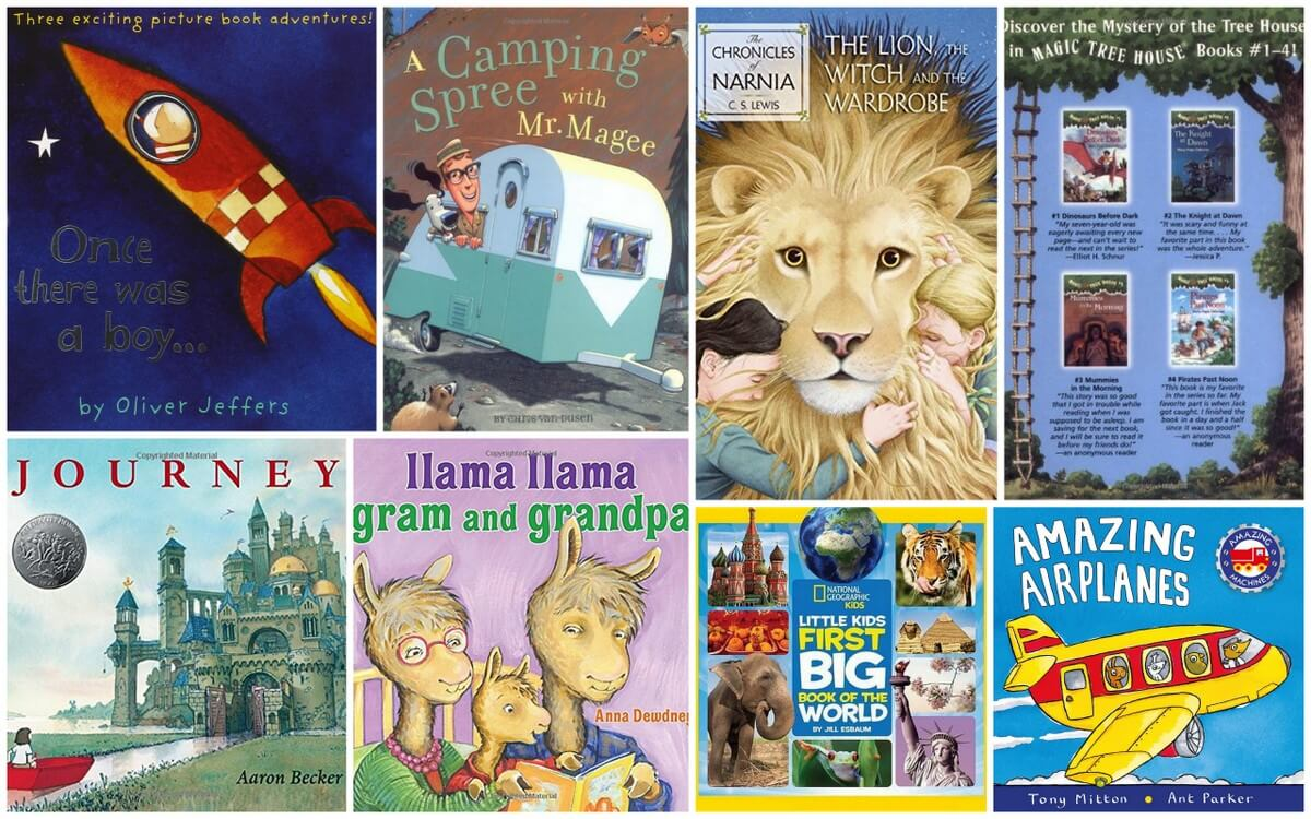 8 Books for Kids Who Love Travel & Adventure