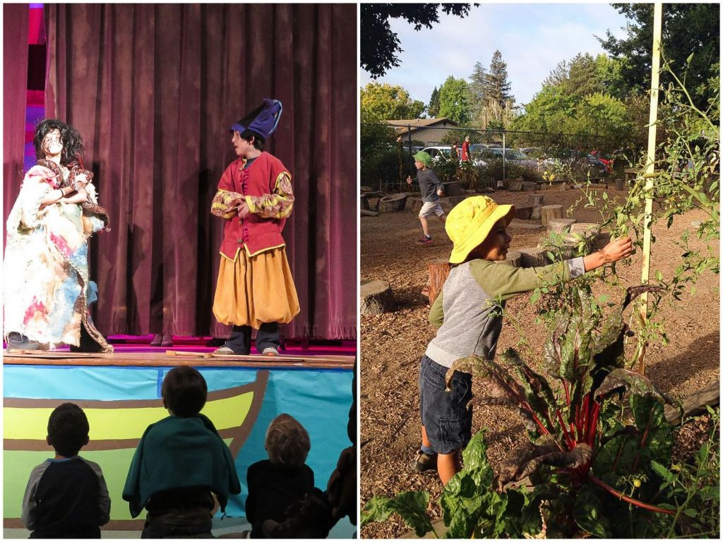 What's it like to go to a Waldorf school?
