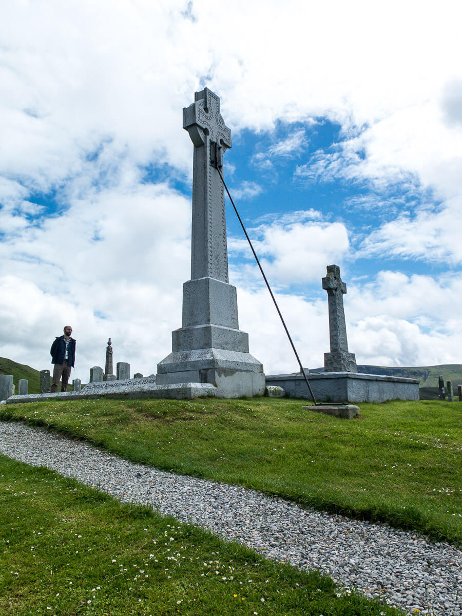 What to do on the Isle of Skye: grave of Flora MacDonald