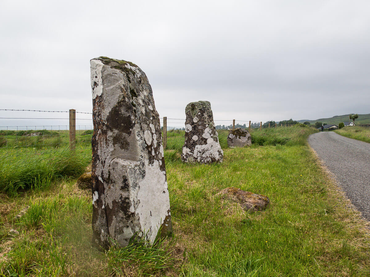 Where to see standing stones on the Isle of Skye