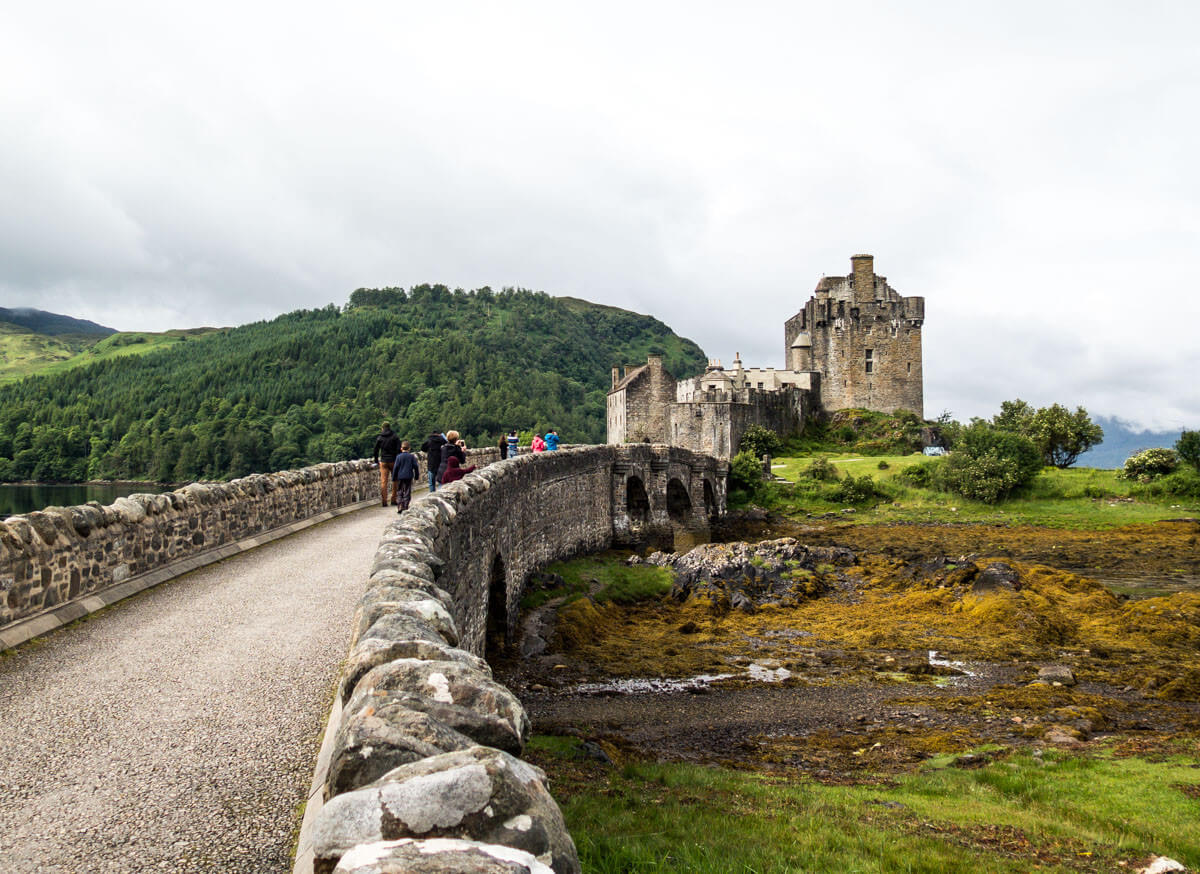 What to do on the Isle of Skye: Day trip to Eilean Donan Castle