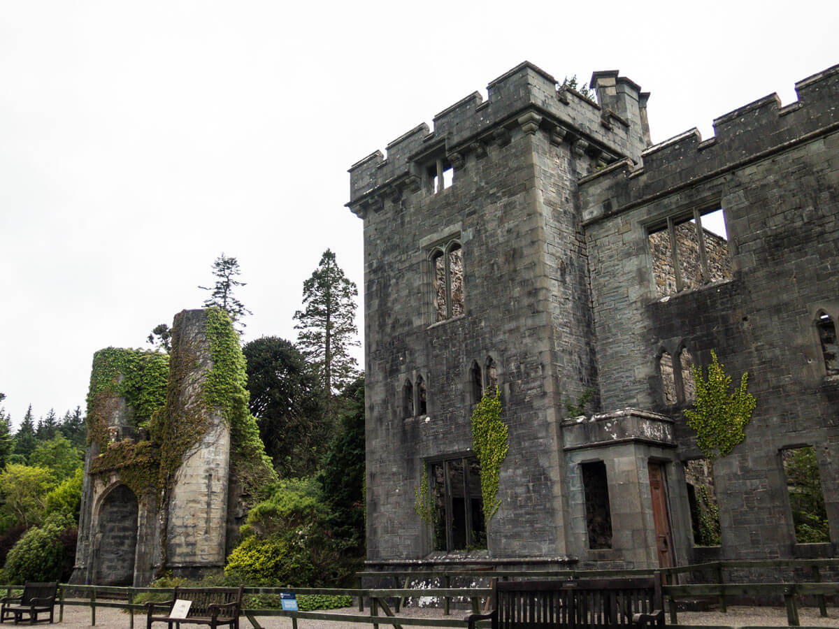 What to do on the Isle of Skye: Armadale Castle ruins