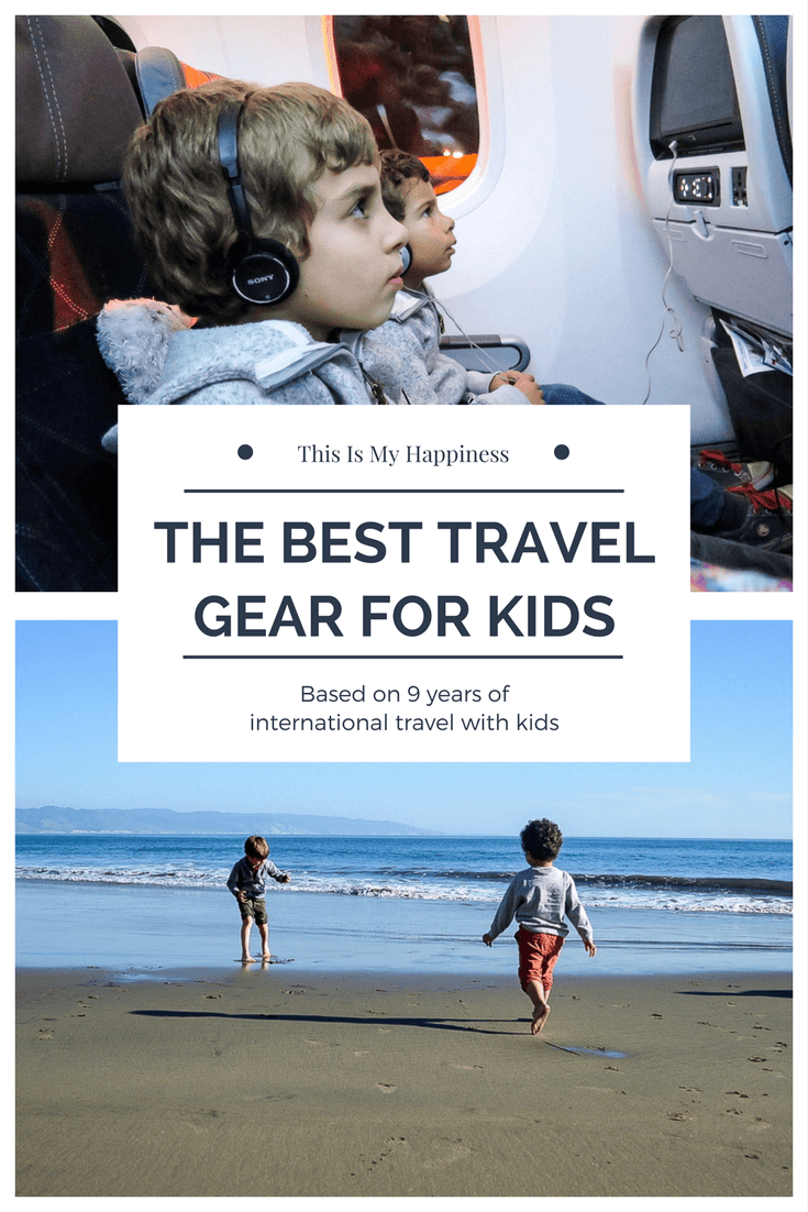 best travel gear for kids