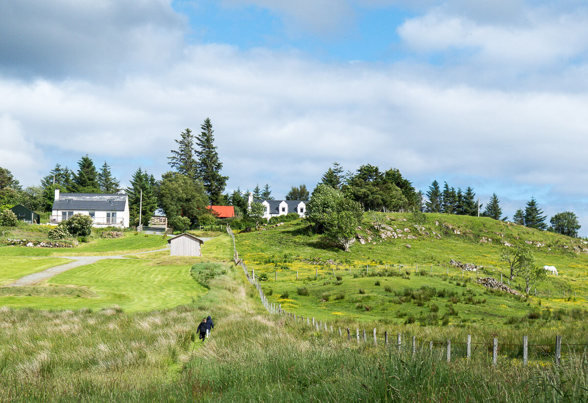 Comfortable home for family on Isle of Skye