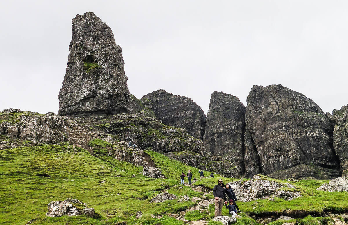 What to do on Isle of Skye: Old Man of Storr hike