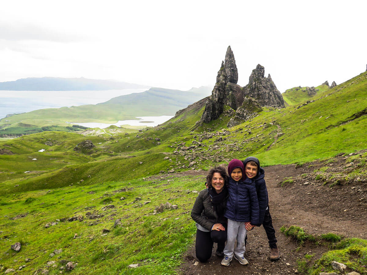 Old Man of Storr hike with kids