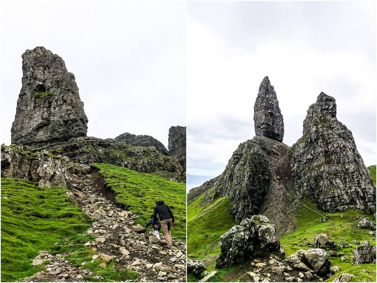 Tips for Old Man of Storr hike, Isle of Skye