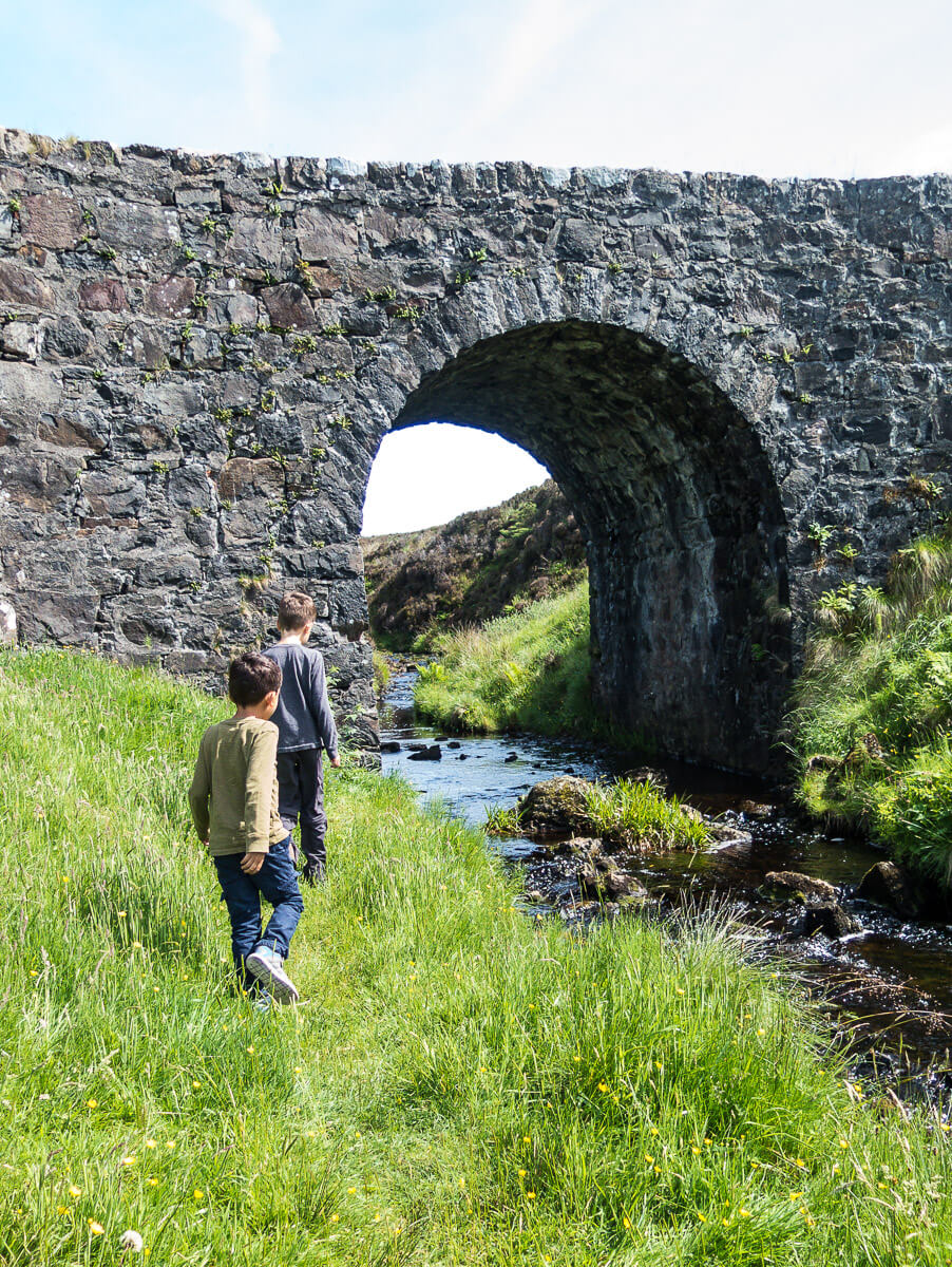 2 to 3 week Scotland itinerary with kids