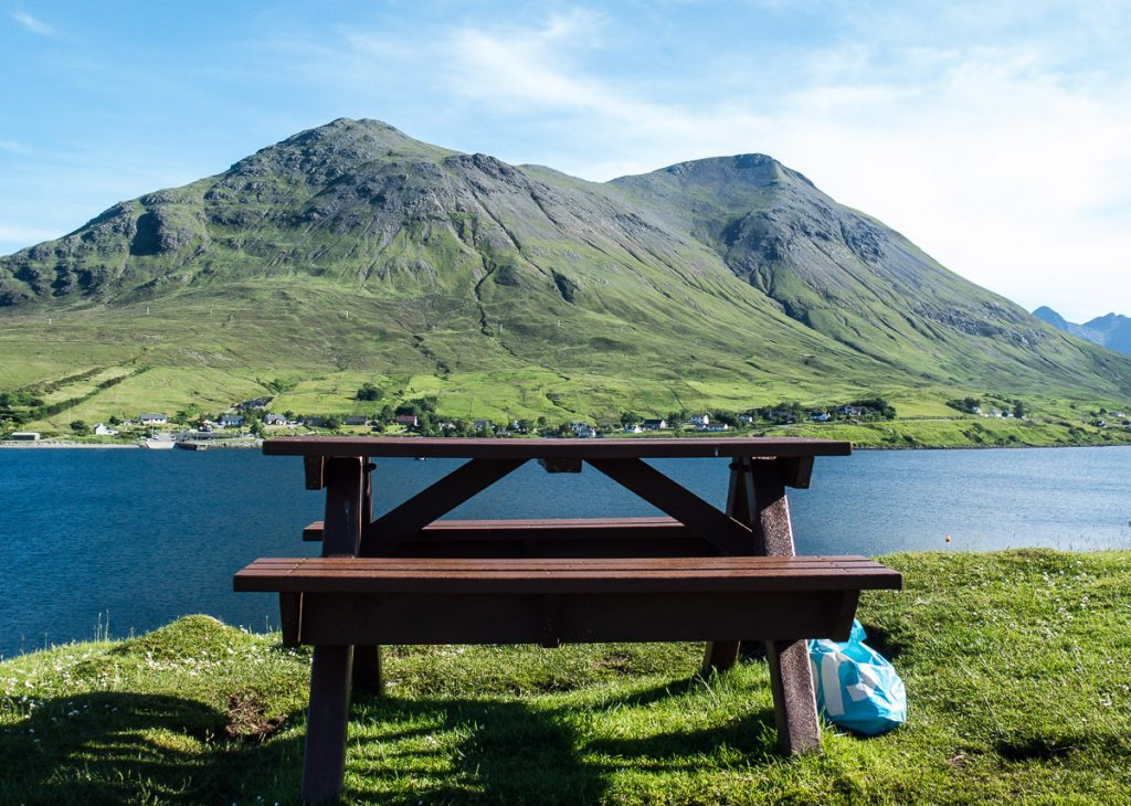 Best place for a picnic on Isle of Skye