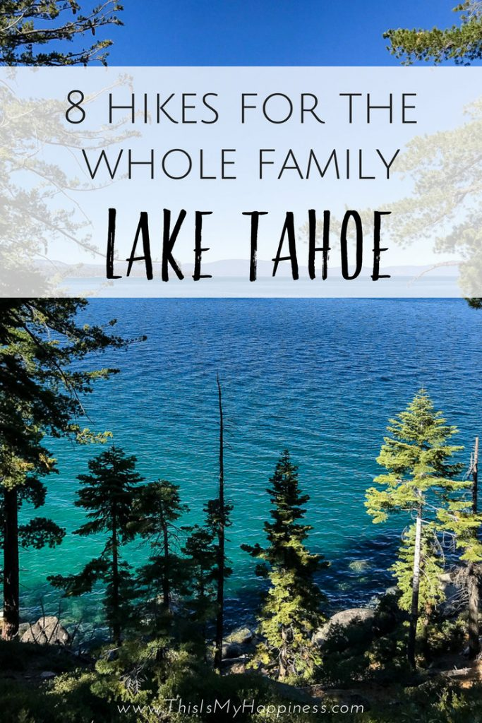 8 Easy Hikes at Lake Tahoe: Where to hike with kids in Lake Tahoe