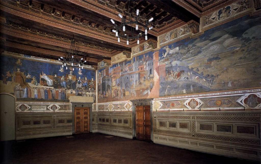 Siena fresco