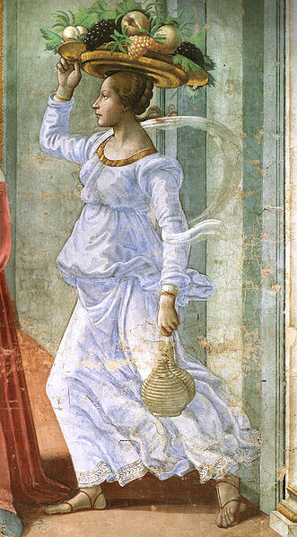 Tornabuoni chapel fresco
