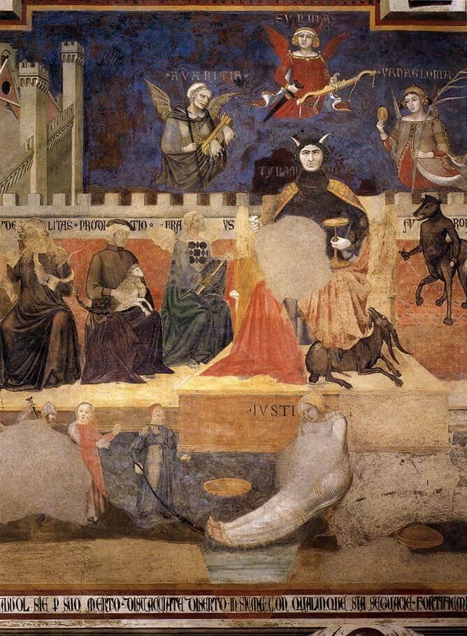 Fresco Siena